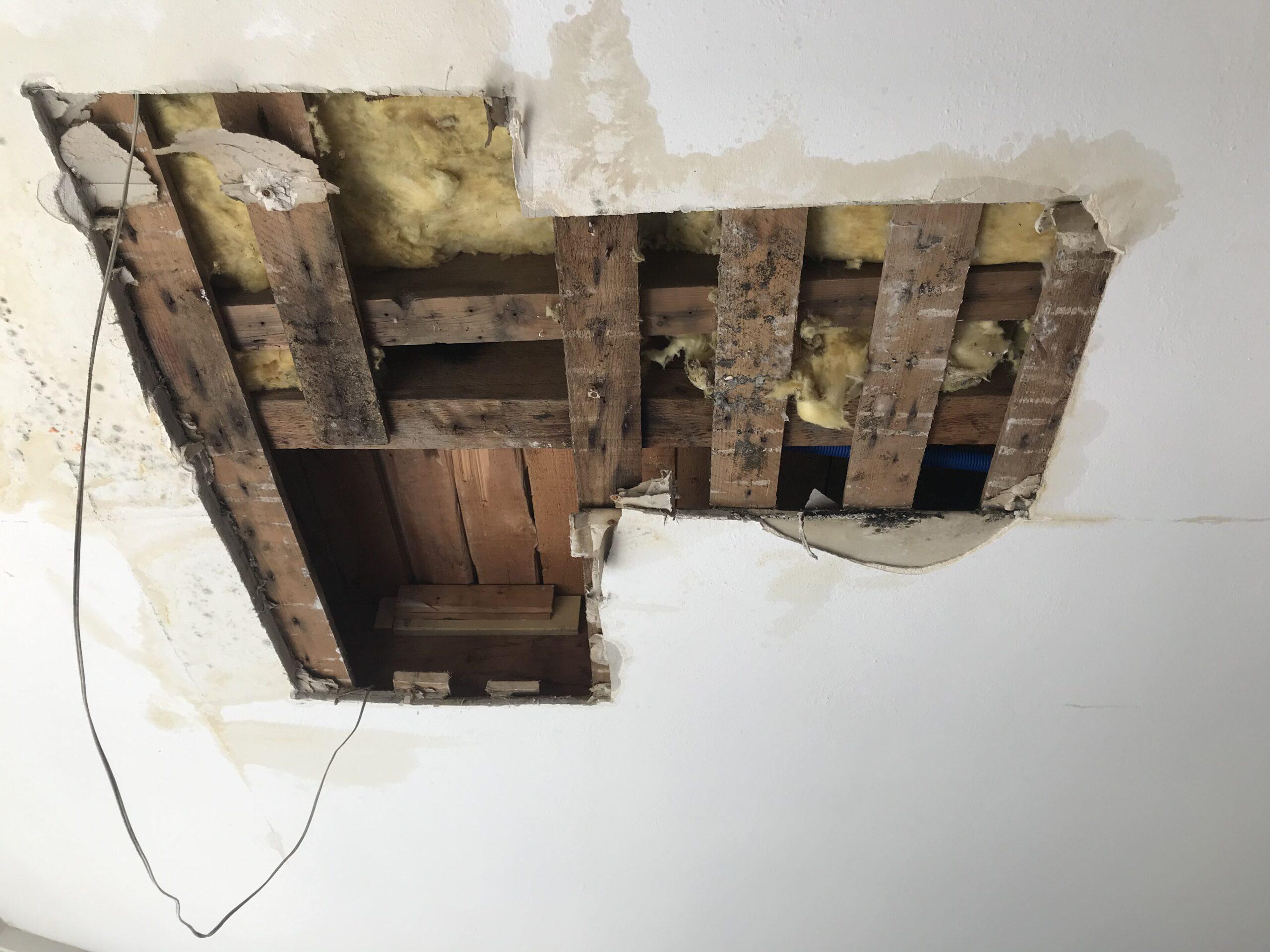 Reparatie lekkage woonhuis